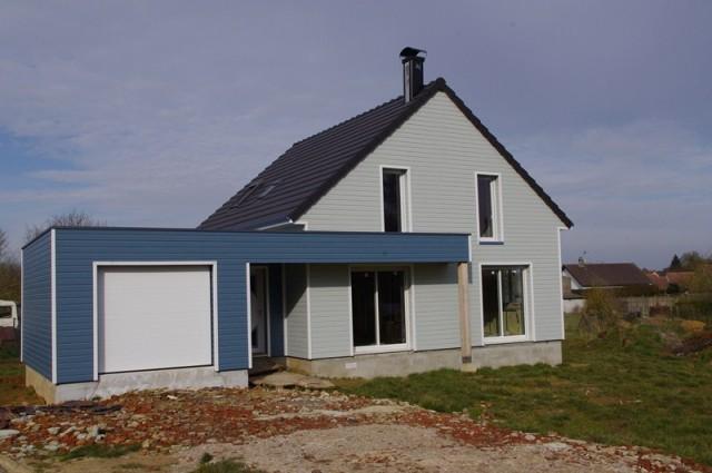 Maison bois amiens beauvais construction et for Agrandissement maison etage