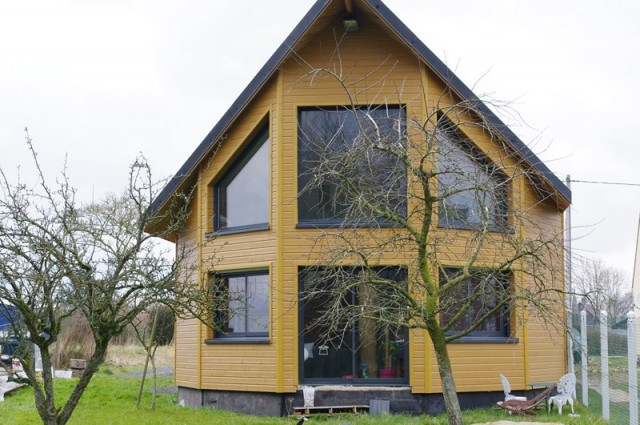 Maison bois amiens beauvais construction et for Agrandissement maison 49