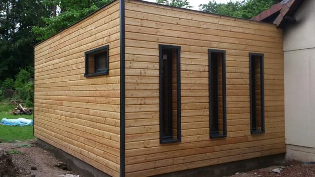 Maison bois amiens beauvais construction et for Agrandissement maison 76